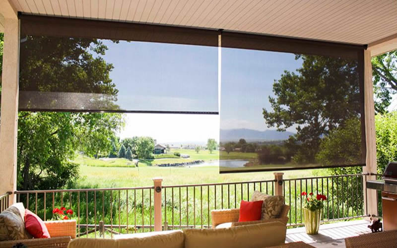 Exterior Shades - Indiana Blinds